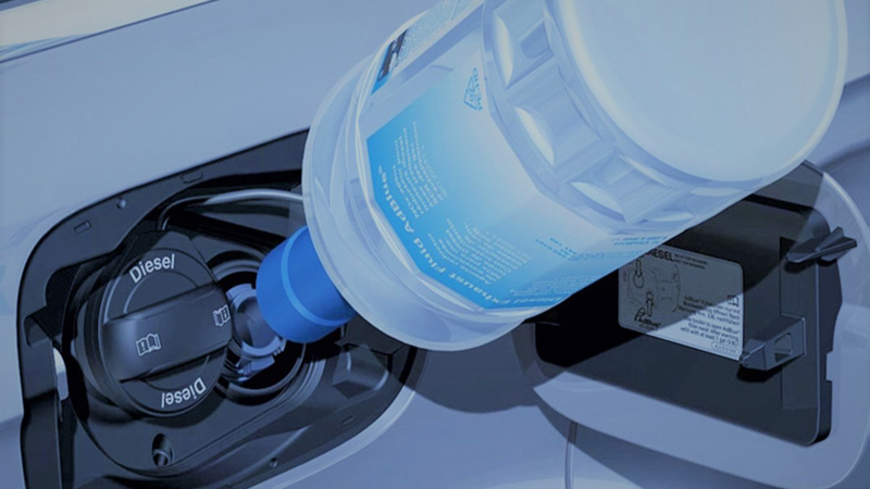 AdBlue in a Diesel Car