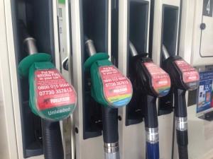 Fuel Fixer Campaign at a UK Petrol Station