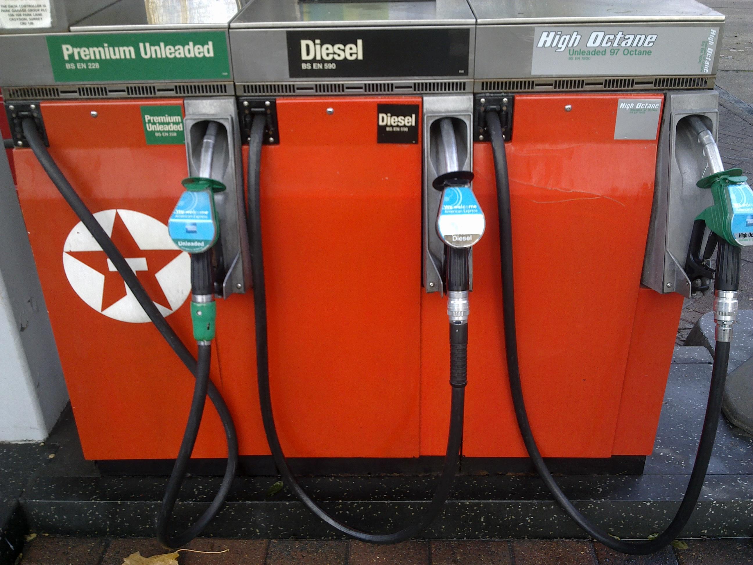 petrol in diesel pumps